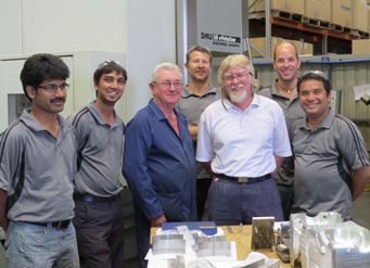 The Design and Toolmaking Team